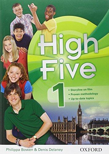 9780194663618: High five. Student's book-Workbook. Con espansione online. Con CD Audio. Per le Scuola media: High five. Student's book-Workbook. Con CD Audio. Per le Scuola media: 1