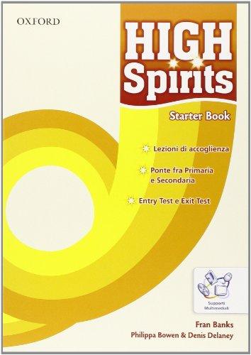 9780194664103: High spirits. Student's book-Workbook-Extrabook. Per la Scuola media. Con CD-ROM. Con espansione online: 1