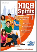 9780194664127: High spirits. Student's book-Workbook-Extrabook. Con espansione online. Per la Scuola media. Con CD-ROM. Con DVD-ROM: 1