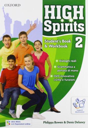 9780194664189: High spirits. Student's book-Workbook-Extra book. Con espansione online. Per la Scuola media. Con CD-ROM: 2