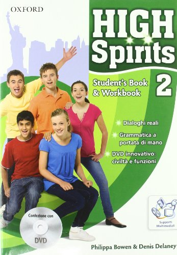 9780194664202: High spirits. Student's book-Workbook-Extrabook. Con espansione online. Per la Scuola media. Con CD-ROM. Con DVD-ROM: 2