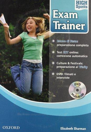 9780194664394: High spirits exam trainer. Student's book. Per la Scuola media. Con DVD-ROM. Con Multi-ROM
