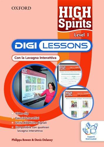 9780194664592: High Spirits 1 Interactive Whiteboard CD-rom (Italy)