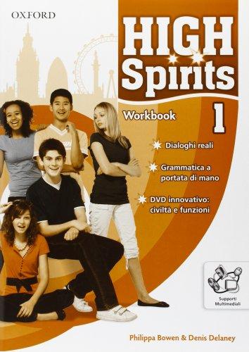9780194664639: High spirits. Workbook. Per la Scuola media