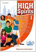 9780194664745: High spirits. Starter-Student's book-Workbook-My digital book. Per la Scuola media. Con CD-ROM. Con espansione online: 1
