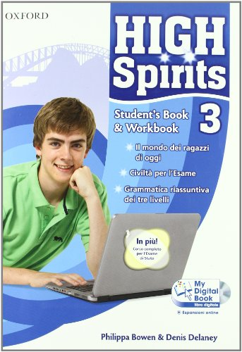 9780194664882: High spirits. Student's book-Workbook-My digital book. Con espansione online. Per la Scuola media. Con CD-ROM: 3