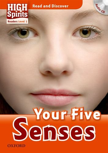 9780194665063: High spirits readers. Your five senses. Livello 1. Con CD Audio