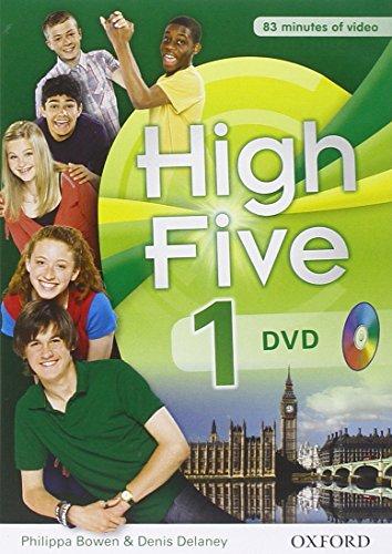 9780194665452: High five 1. . Con DVD docente