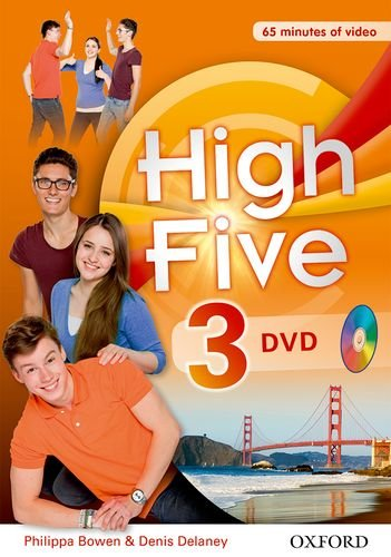 9780194665476: High five 3. . Con DVD docente