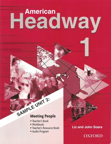 9780194701709: (American Headway 1: Student Book) By Soars, Liz (Author) Paperback on (09 , 2001)
