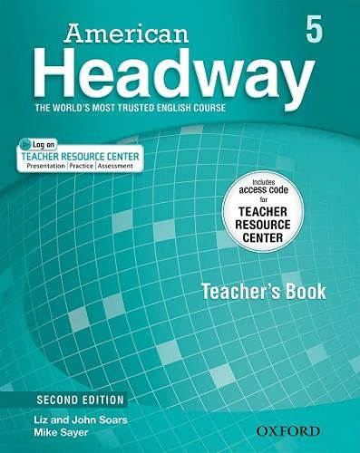 9780194704557: American Headway, Second Edition Level 5: Teacher's Pack