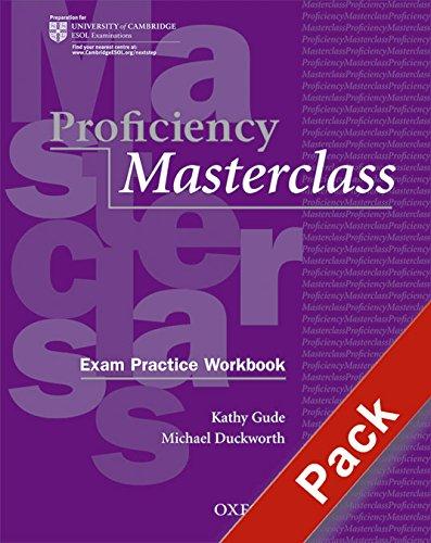 9780194705028: Proficiency Masterclass: Workbook Pack Without Key