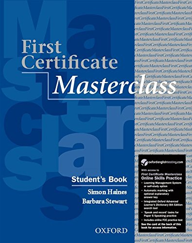 First Certificate Masterclass Student's Book with Online: Stewart, Barbara