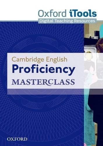 9780194705134: Cambridge English: Proficiency (CPE) Masterclass: Proficiency Masterclass. iTools 3rd Edition (Proficiency Masterclass Third Edition)