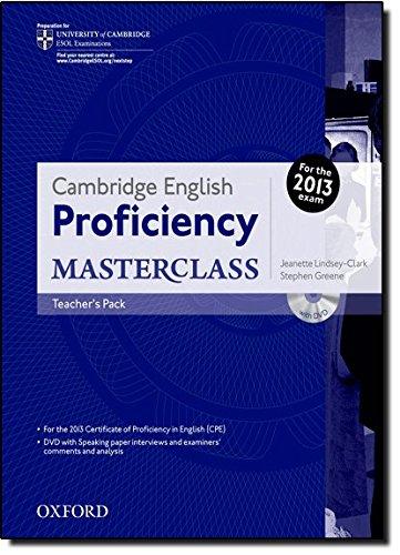 9780194705257: Cambridge English: Proficiency (Cpe) Masterclass: Teacher's Pack