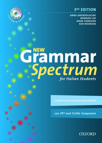 9780194706001: New Grammar Spectrum: for Italian Students