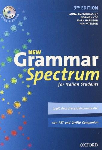 9780194706025: New grammar spectrum. Student's book. Con espansione online. Per le Scuole superiori. Con CD-ROM