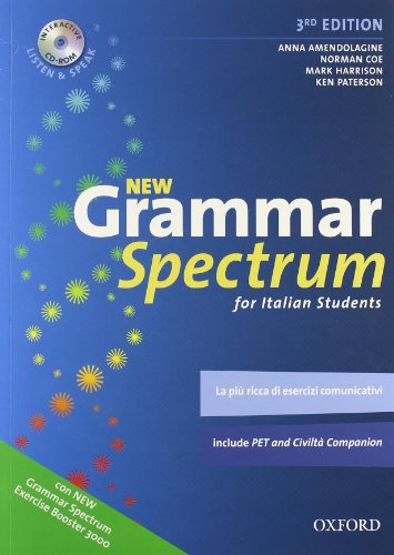 9780194706131: New grammar spectrum for italian students. Exercise booster 3000. Per le Scuole superiori