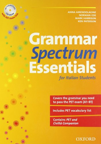 9780194706223: New grammar spectrum essential. Student's book. Con CD-ROM