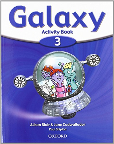 9780194707510: Galaxy 3: Activity Book and Multi-ROM Pack