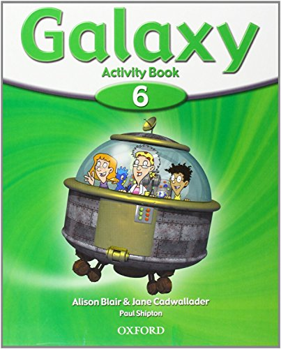 9780194707541: Galaxy 6: Activity Book Pack CON Multi-ROM