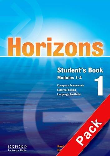 9780194708111: Horizons. Starter module. Student's book-Workbook-Portfolio. Con CD Audio. Con CD-ROM. Per le Scuole superiori: 1