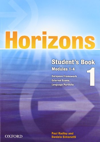 9780194708128: Horizons. Starter module. Student's book-Workbook-Portfolio. Con CD Audio. Per le Scuole superiori: 1