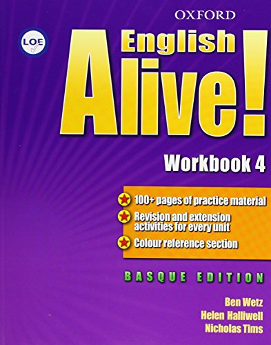 9780194710237: English Alive! 4: Workbook (País Vasco)