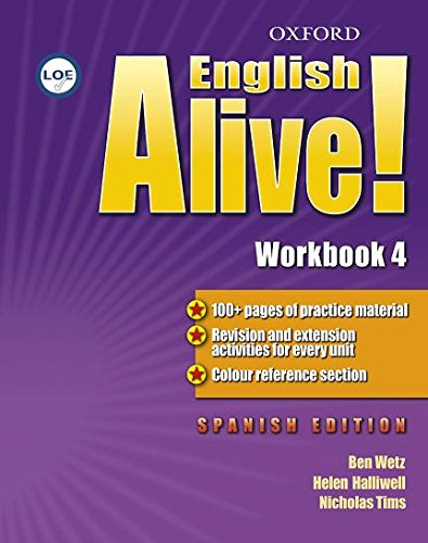 9780194710244: English Alive! 4: Workbook (Spanish) - 9780194710244