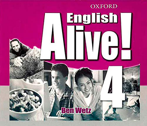 9780194710268: ENGLISH ALIVE! 4 CLASS AUDIO CD (4)