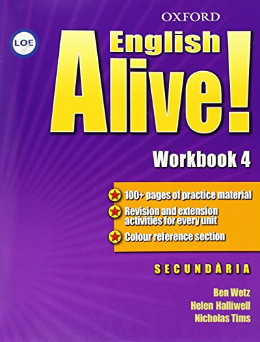 9780194710558: English Alive! 4: Workbook (Catalán)