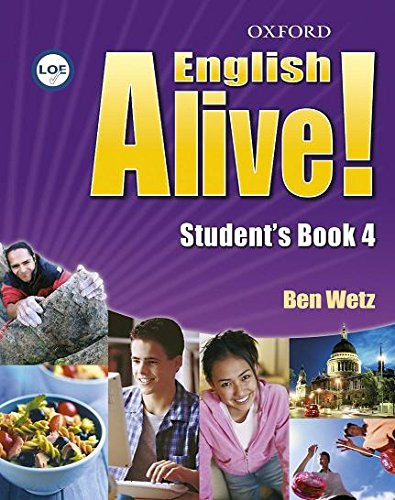 9780194710848: English Alive! 4. Student's Book + Multi-Rom - 9780194710848