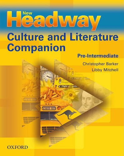 9780194711036: New Headway Pre-intermediate Culture & Literature Companion