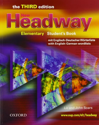 9780194711180: New Headway Elementary Student's Book: Student's Pack: Student's Book + Interaktive Practice CD-ROM. Mit zweisprachiger Vokabelliste. Pack for Germany an Austria