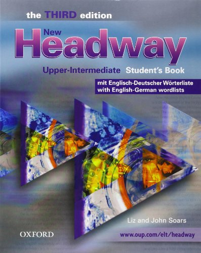 9780194711210: New Headway. Upper-Intermediate. 3rd Edition. German Wordlist Student Book & CD-ROM Pack (German & Swiss Edition)