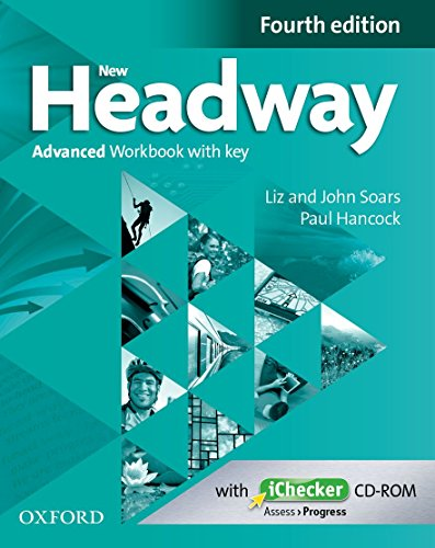 9780194713542: New Headway 4e Advanced Workbook with Key & Ichecker Pack