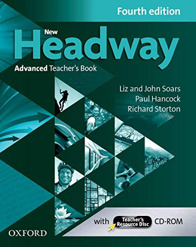 9780194713566: New Headway 4e Advanced Teachers Book & Teachers Resource CD-rom Pack
