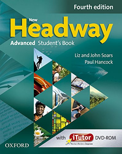 9780194713573: New Headway 4th Edition Advanced. Student's Book + Workbook with Key (New Headway Fourth Edition)