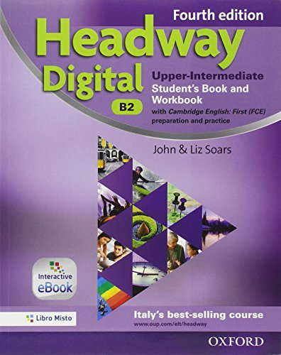 9780194713696: Headway digital. Upper-intermediate. Entry checker-Student's book-Workbook. Without key. Con e-book. Con espansione online. Per le Scuole superiori