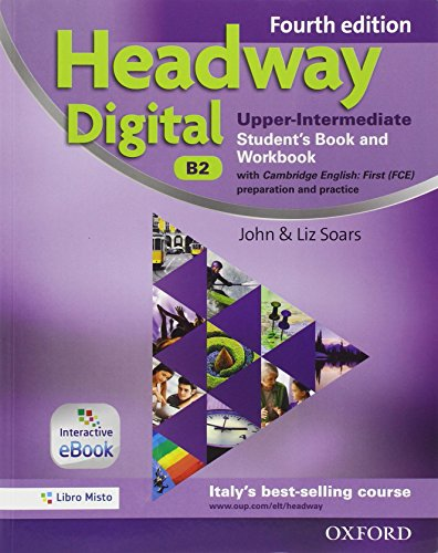 9780194713719: Headway digital. Upper-intermediate. Entry checker-Student's book-Workbook. With key. Con e-book. Con espansione online. Per le Scuole superiori