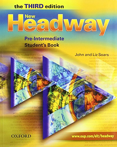 9780194714860: New Headway Pre-Interm 3Ed Student's Book + Workbook with Key