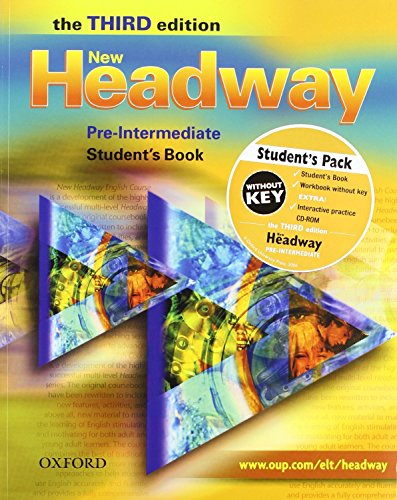 9780194714877: New Headway Pre-Intermediate: Student's Book and Workbook Without Answer Key Pack 3rd Edition (New Headway Third Edition)