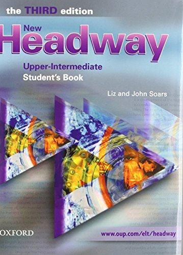 9780194714884: New headway upper-int 3ed sb+wb w/k pk