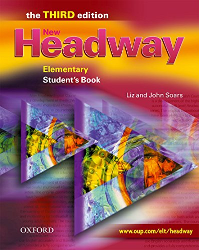 9780194715096: New headway elem sb 3e: Student's Book Elementary level