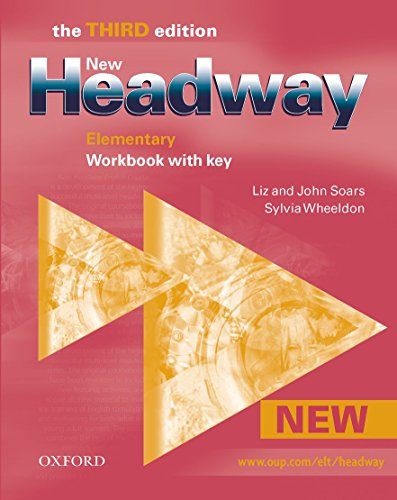 9780194715102: New Headway Elementary 3rd edition workbook with key