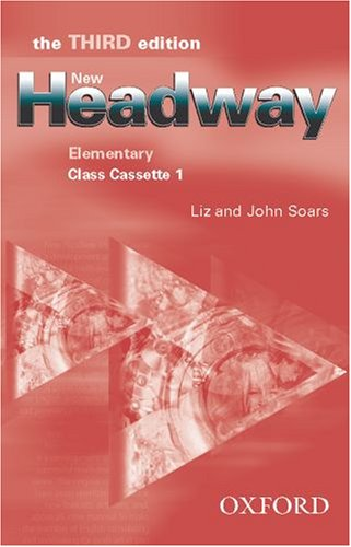 9780194715133: New Headway: Class Cassettes Elementary level