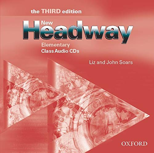 9780194715140: New Headway: Elementary: Class Audio CDs