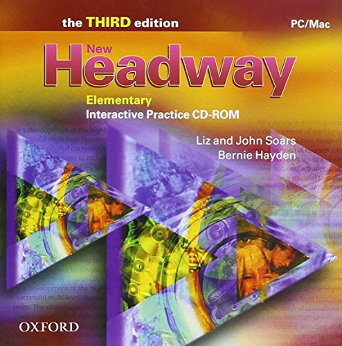 9780194715157: New Headway: Elementary Third Edition: Interactive Practice CD-ROM: Six-level general English course for adults