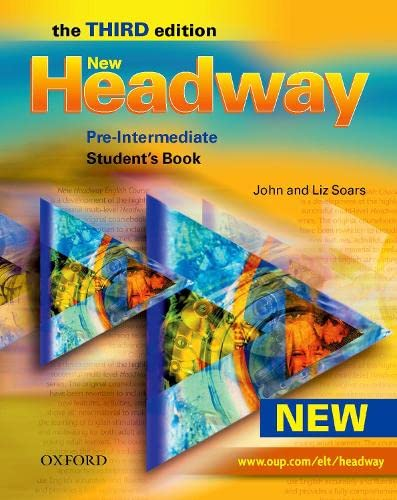 9780194715850: New Headway : Pre-Intermediate - Student's book
