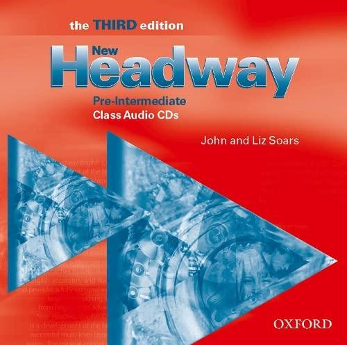 9780194715904: New Headway: Pre-Intermediate Third Edition: Class Audio CDs (3)